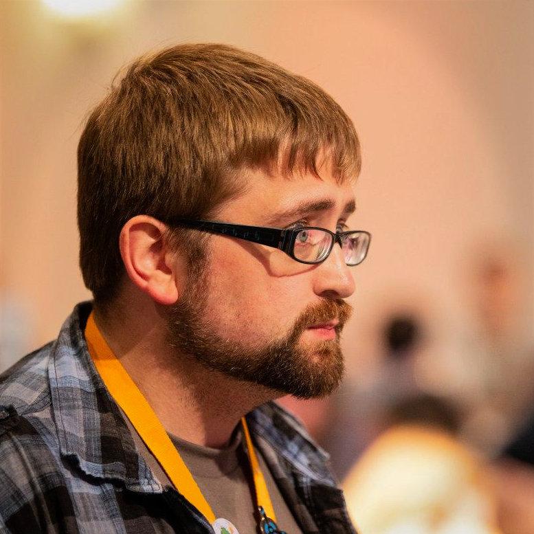 Stephan A. Kanthak auf einer Comic & Fantasy Convention in 2019.